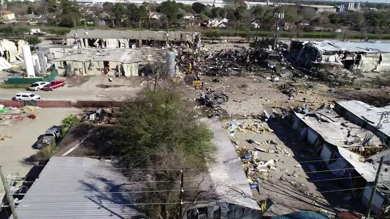 Recovery begins 24 hours after northwest Houston explosion