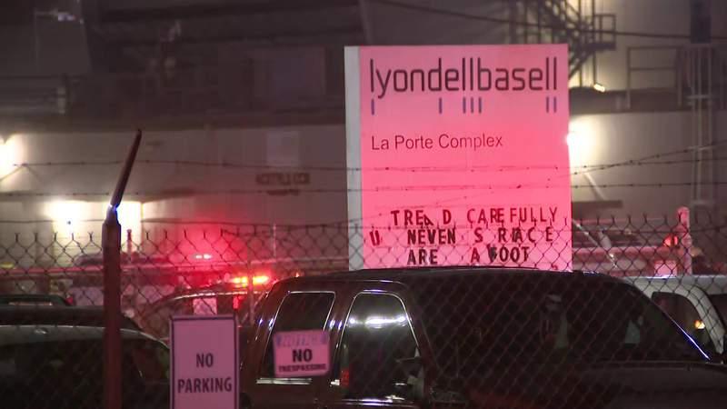 Chemical leak at LyondellBasell in La Porte