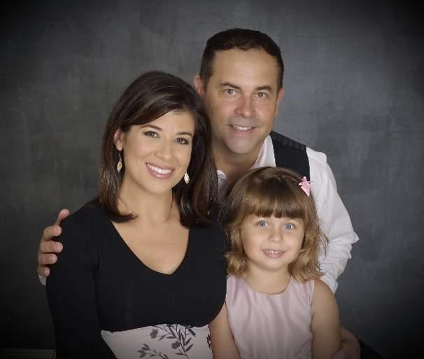 Lisa Hernandez and her family