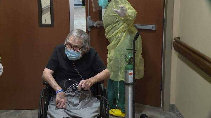 A new way to fight COVID-19 in Texas: positive-only nursing homes