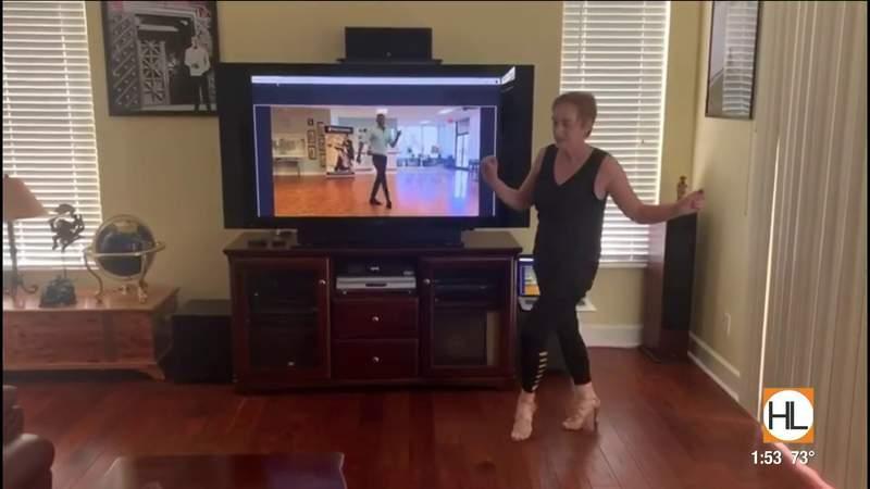 Celebrity dance pro Tony Dovolani teaching FREE virtual ballroom dance lessons   HOUSTON LIFE   KPRC 2