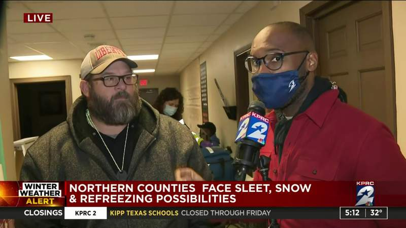 Warming centers in northern counties housing those without power, electricity