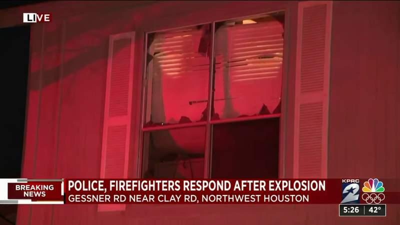Massive explosion rocks Houston
