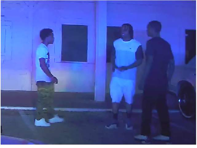 Homicide investigators are releasing still photos of two suspects involved in a fatal shooting at a local night club.