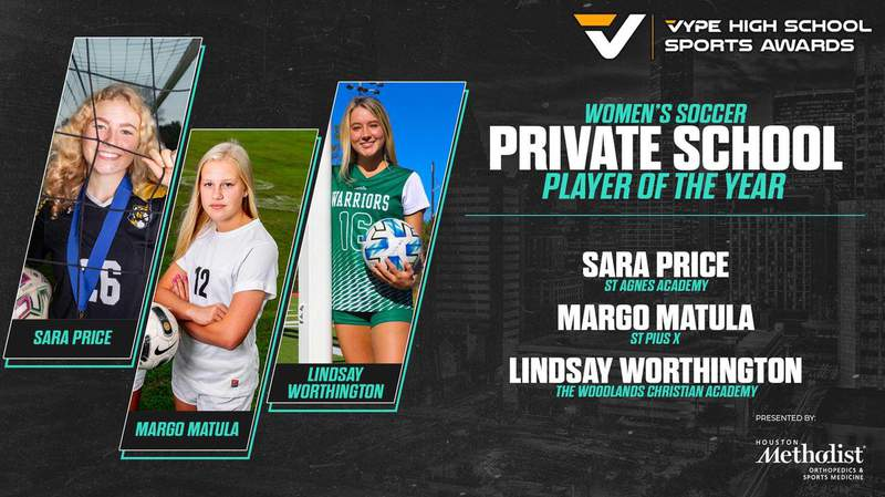 2021 VYPE Awards: Private School Women's Soccer Player of the Year Finalists
