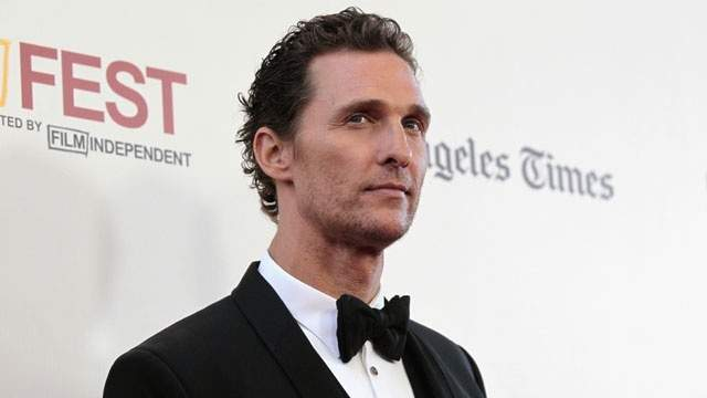 """Matthew McConaughey is known for his hunky physique that he showed off in movies like """"Magic Mike."""""""