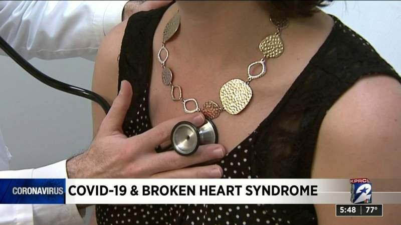 COVID-19 and broken heart syndrome