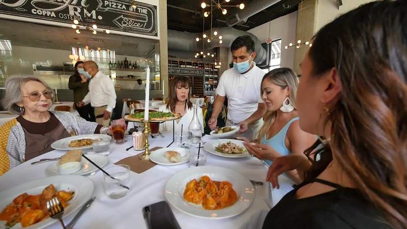 Restaurants seeing rise in reservations