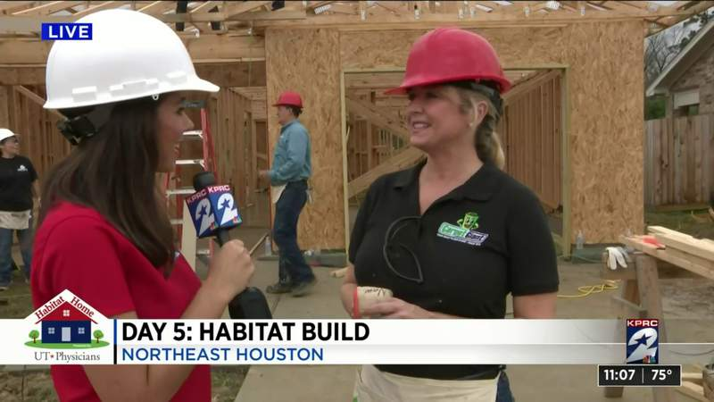 Carpet Giant and Shipley Do-Nuts build day for seventh annual Habitat for Humanity build