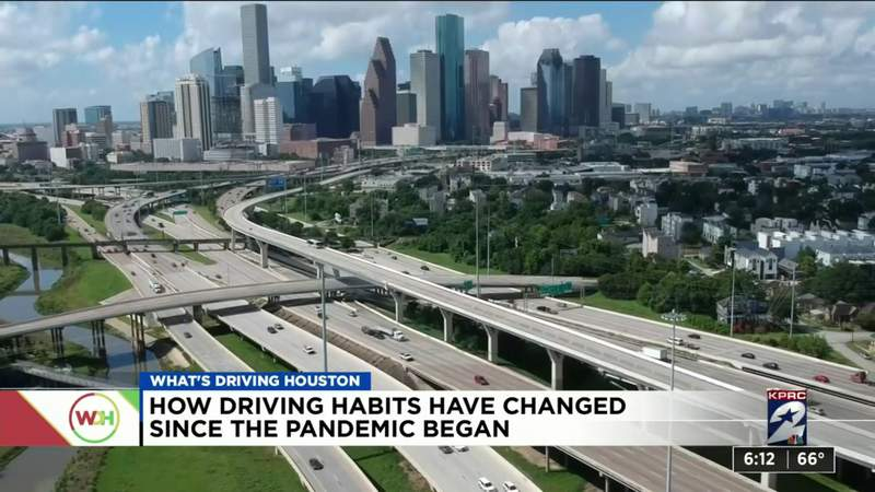 How driving habits have changed since the pandemic began