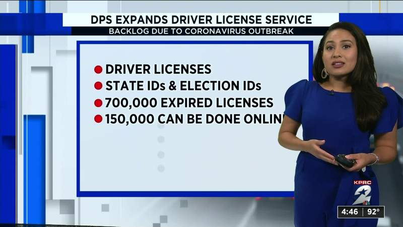 Texas DPS expands driver license services