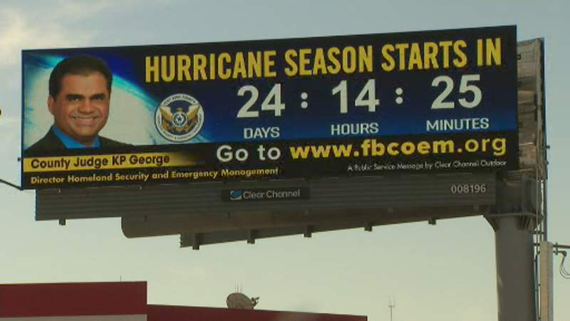 Fort Bend County launched a hurricane preparedness digital billboard campaign for the county.