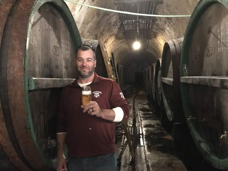 Karbach Brewing Company Brewmaster and Founder of CCJ Collaborations Chris Juergen.