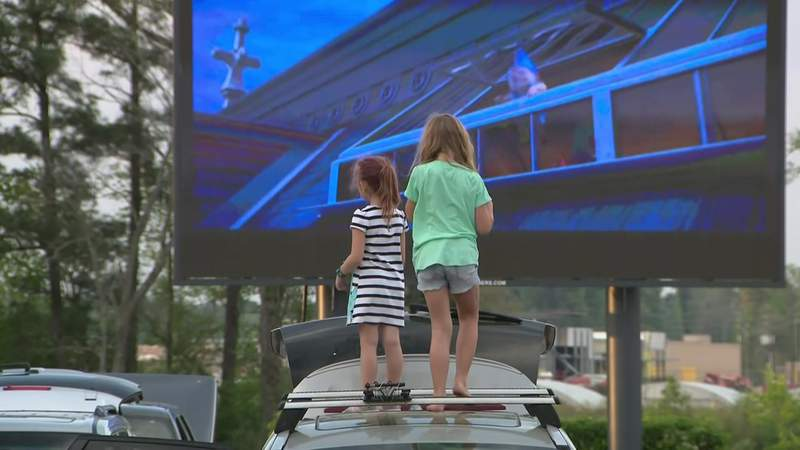 Spring business offers drive-in theater