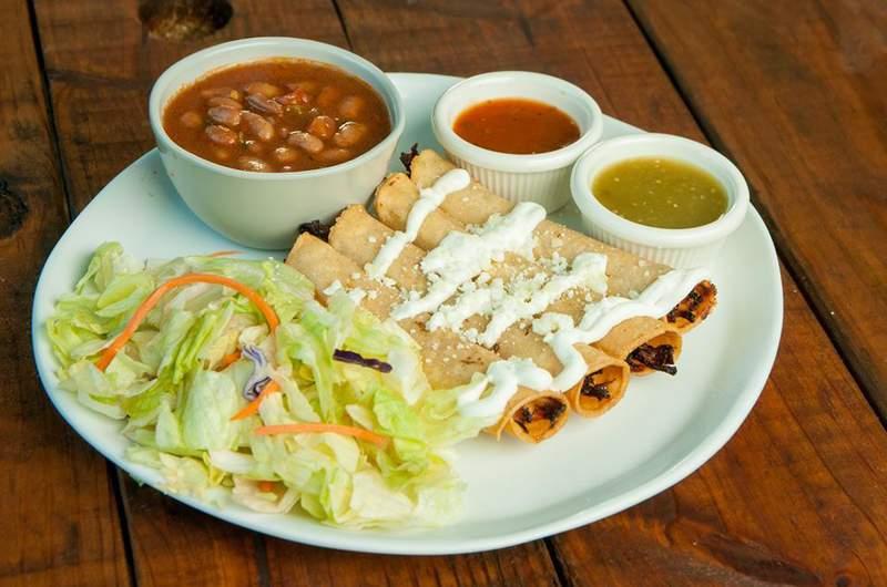 Flauta platter from Ta' Bueno Mexican Kitchen