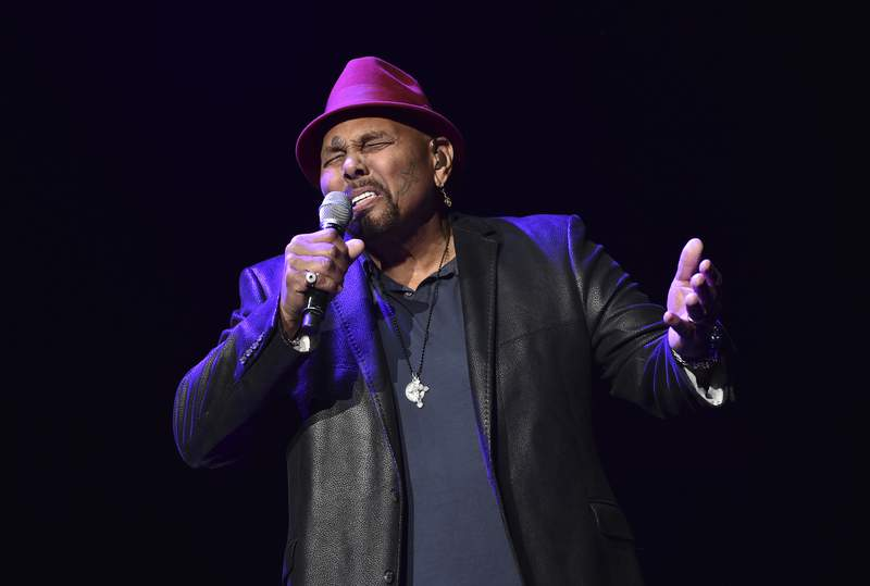 FILE - In this Saturday, Jan. 6, 2018 file photo, Singer Aaron Neville performs during A Concert For Island Relief at Radio City Music Hall in New York. Fans of the sweet, melodic sounds of New Orleans legendary vocalist Aaron Neville wont have many opportunities to hear him live from now on. In posts Tuesday, May 4, 2021 on his official website and via social media, Neville announced his official retirement from touring.(Photo by Evan Agostini/Invision/AP)