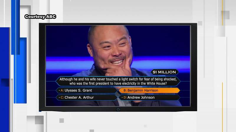 Chef David Chang's 'Millionaire' win means huge donation to Houston charity