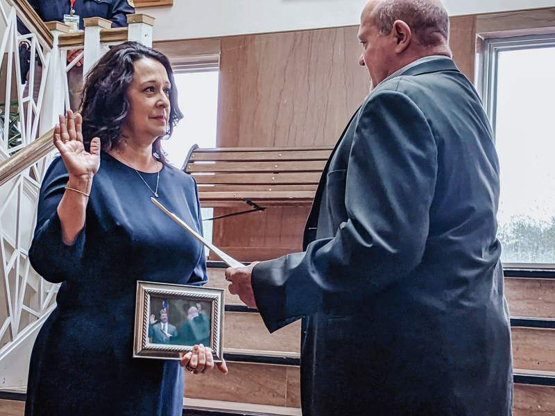 Chambers County Commissioners Court is proud to announce the appointment of Celia Devillier, wife of the late Honorable Yale Devillier, to the position of Justice of the Peace Precinct 1.