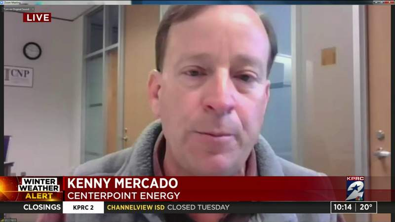CenterPoint discusses Texas power outages