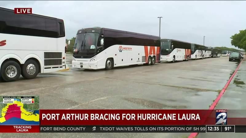 Port Arthur bracing for Hurricane Laura