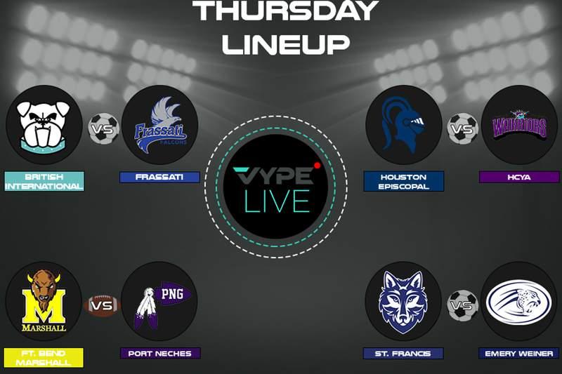 VYPE Live Lineup - Thursday 12/10/20