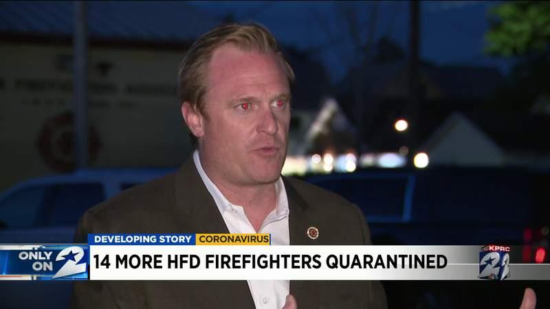 14 more HFD firefighter quarantined