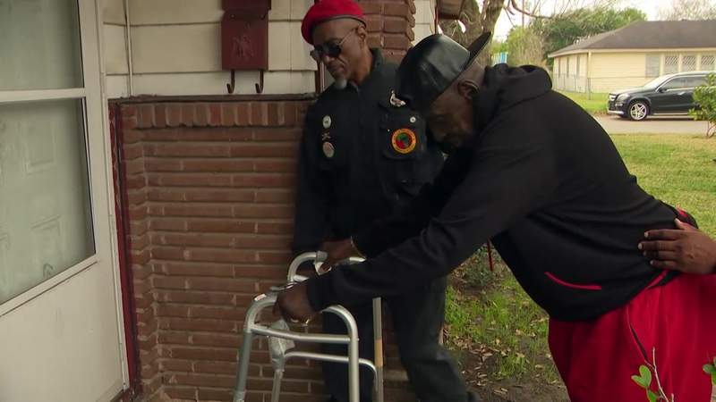 Community push to find suspect accused of shooting elderly man