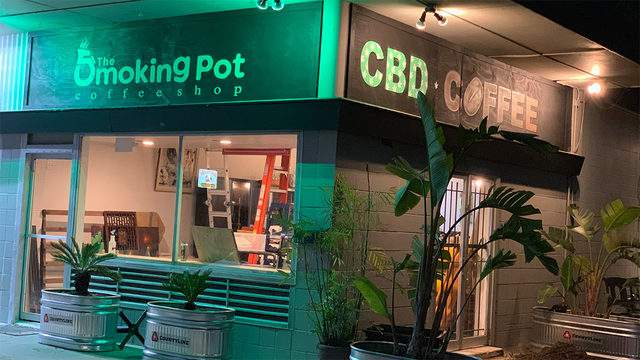 The Smoking Pot Coffee Shop on Longpoint Road (Photo: Facebook)