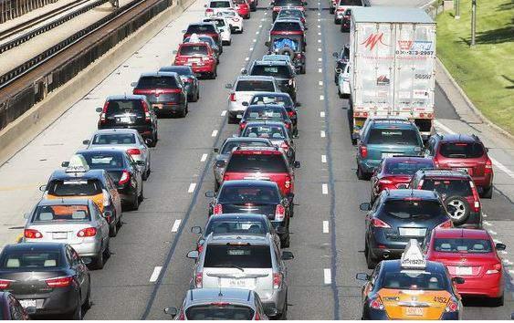 Generic image of traffic. (File photo)