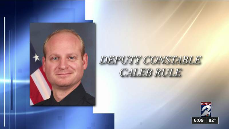 Funeral for Fort Bend County Deputy Constable Caleb Rule