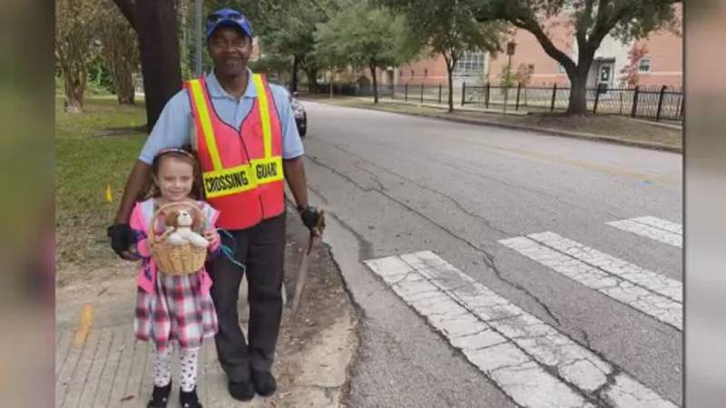 Crossing guard fighting for his life