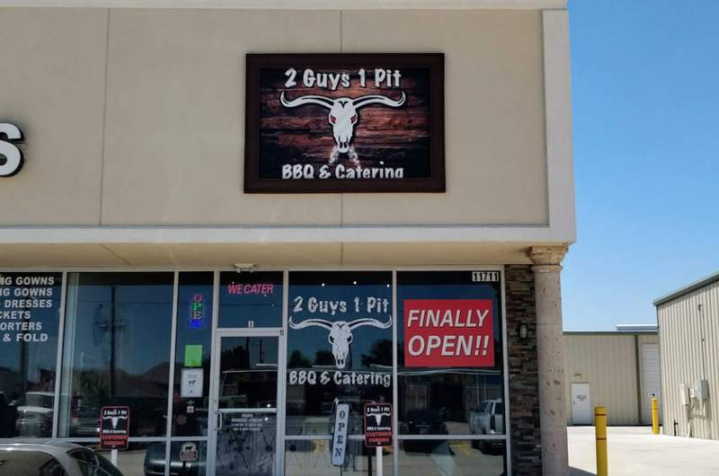 2 Guys 1 Pit BBQ located in Tomball