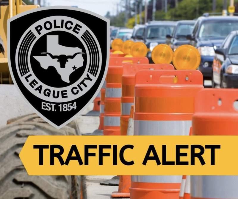 League City traffic alert