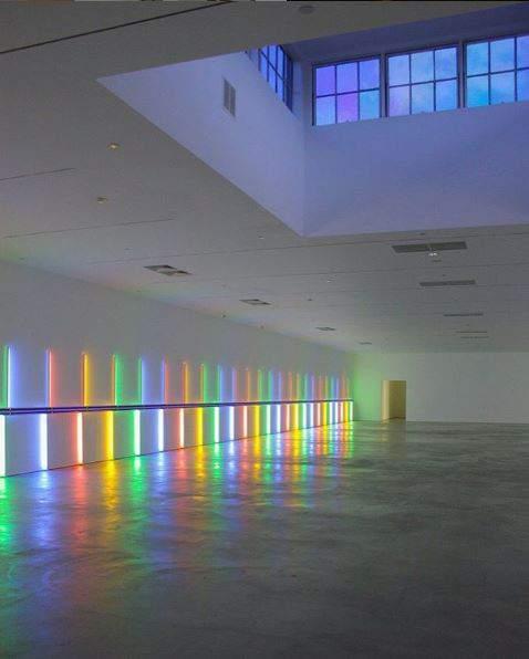Neon Lights Is Back Dan Flavin Exhibit
