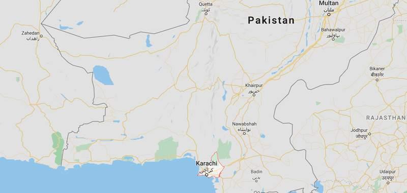 Karachi, Pakistan Google Map