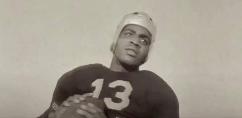 Kenny Washington was the first Black player to re-integrate the NFL in 1946. (Courtesy of CBS Sports)