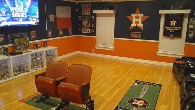 The Astros Man Cave You Have To See