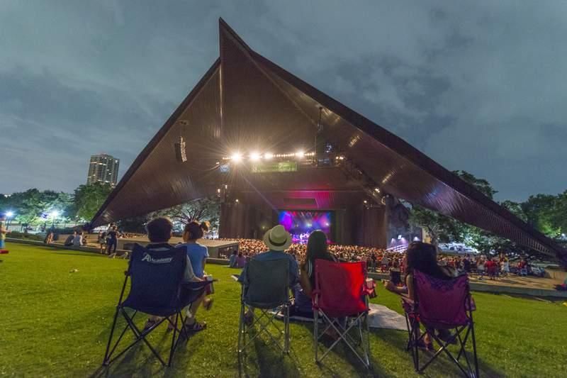 Miller Outdoor Theatre in 2019