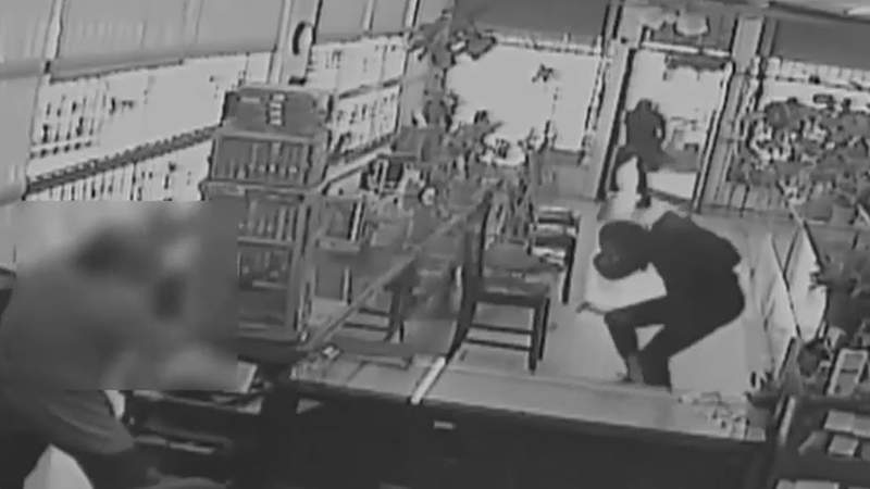 Authorities are searching for the men responsible for an attempted robbery of a Houston jewelry store.
