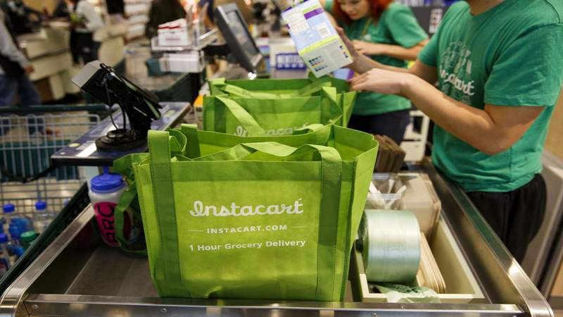 Which grocery delivery service is least expensive with the fewest errors?