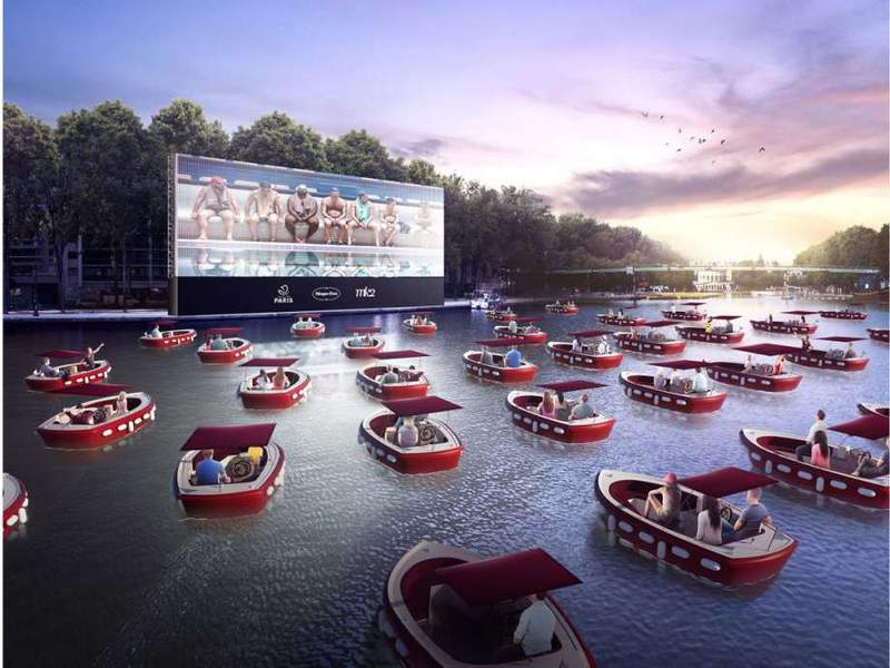Watch movies on water during the week of September 9 in Houston.