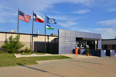 The South Texas ICE Processing Center in Pearsall, Texas.      Robin Jerstad for The Texas Tribune