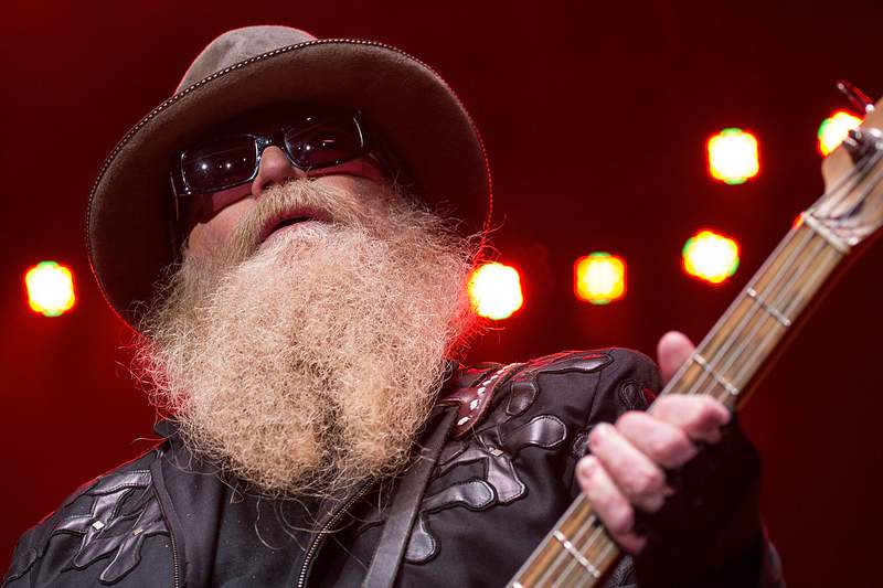 GALLERY: Late ZZ Top bassist Dusty Hill through the years