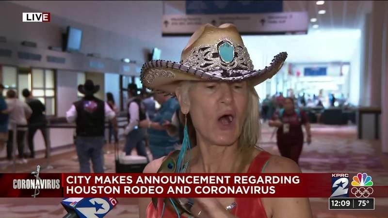 Vendors react to losing money over Houston rodeo shutting down amid coronavirus concerns