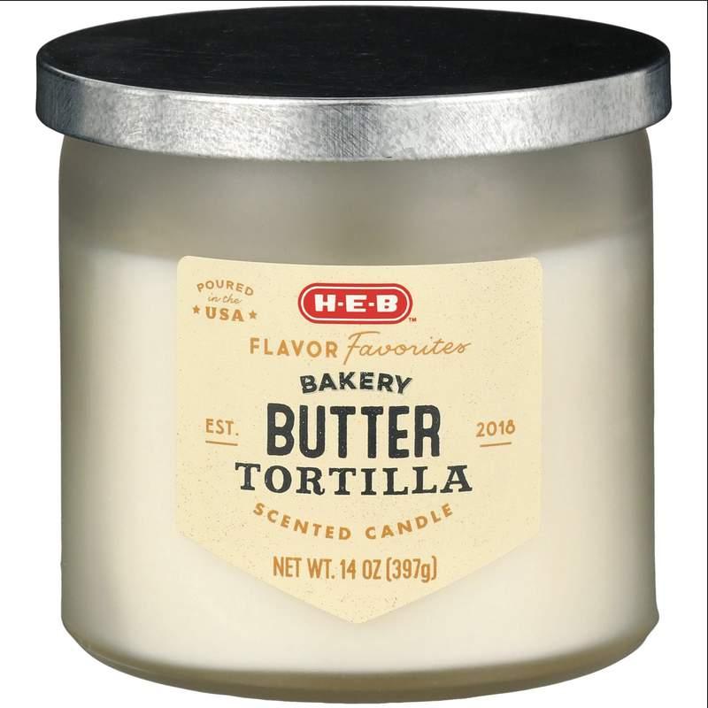 Butter tortilla candle