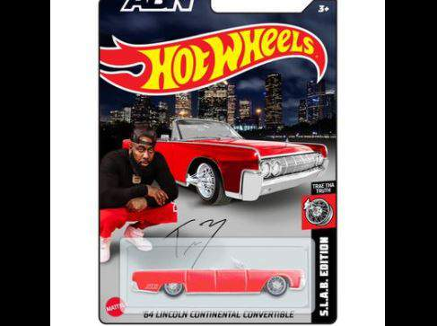 Houston rapper Trae Tha Truth shared this image of the exclusive Hot Wheels toy to be auction off at this Saturday's Hot Wheels Legends event in Spring.