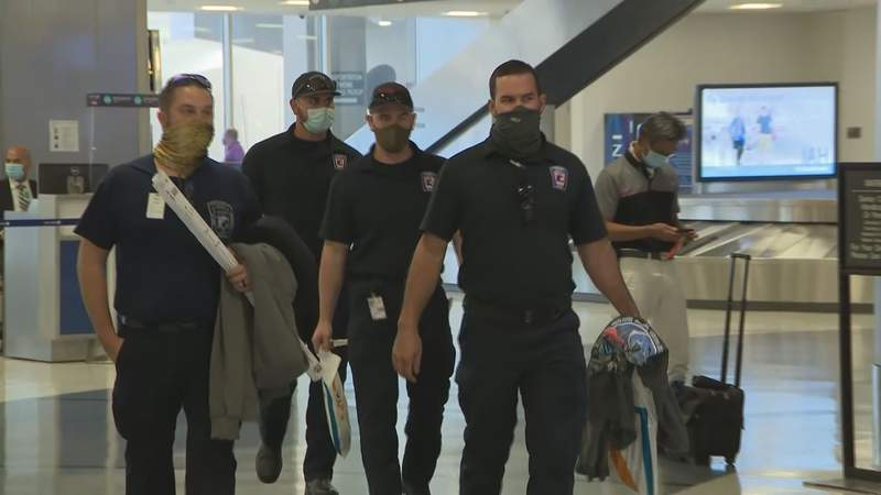 Porter firefighters return from wildfires
