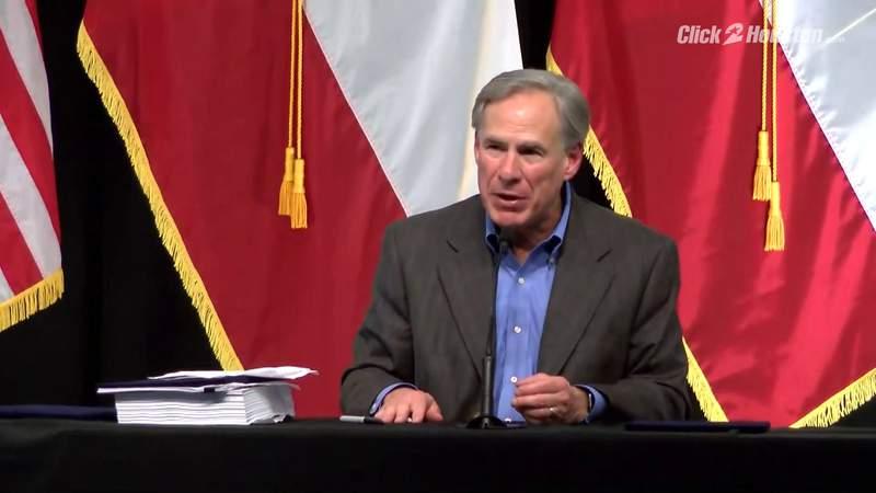 Gov. Greg Abbott announces Texas will begin building border wall