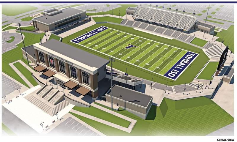Tomball ISD's new football stadium