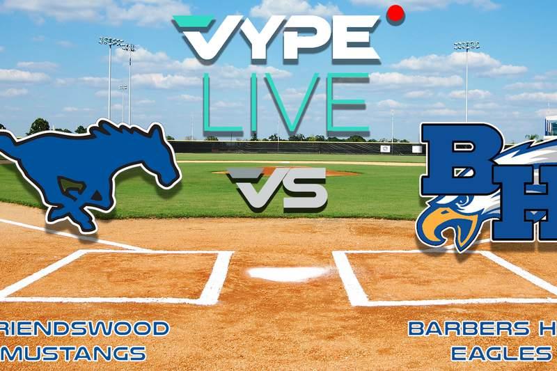 VYPE Live - 5A Baseball Region III Final, Game 1: Friendswood vs. Barbers Hill